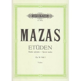 Etüden Opus 36 Violine Band 1 : Etudes spéciales