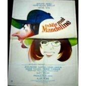 Oublie Moi Mandoline - Michel Wyn - Bernard Menez - Affiche De Cin�ma Pli�e 120x160 Cm