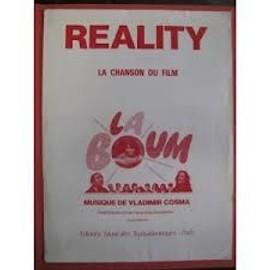 "REALITY (la chanson du film ""La Boum"""