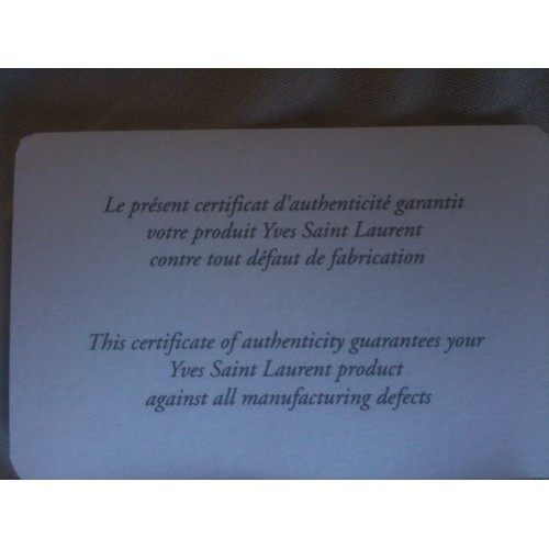 À Et Main Toile Saint Laurent En Enduite Yves Rouge Sac Blanche bgf6yY7v