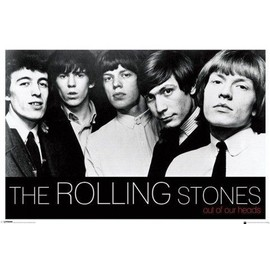 Rolling Stones Poster - Out Of Our Heads (61x91 cm)