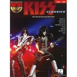 Guitar Play-Along Volume 168 : Kiss Classics + CD