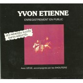 Enregistrement En Public - Yvon Etienne
