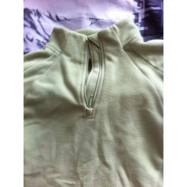 Pull D�cathlon Vert Pale Taille L Comme Neuf