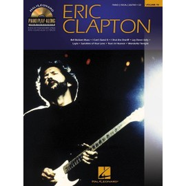 Piano Play-Along Volume 78 : Eric Clapton + CD