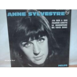 ANNE SYLVESTRE // J ' AI RIEN A DIRE // FALURON - LURETTE