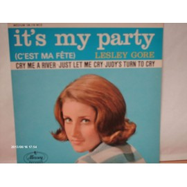 LESLEY GORE // IT ' S MY PARTY // CRY ME A RIVER