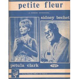 petite fleur Piano/Chant + Accords interprétée par Petula Clark (feuillet)
