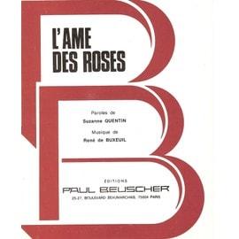 L'âme des roses(légende hindou) chantée par Fred Gouin, Alice de Montero et René Buxeuil