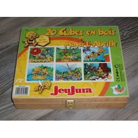 Boite De Cubes Bois Maya L' Abeille