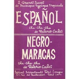Espanol et Negro-maracas