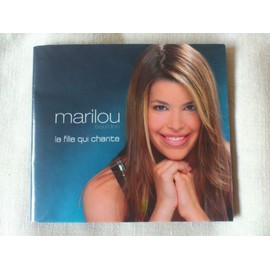 Poster cadeau dans cd de Marilou avec Garou