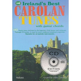 110 Ireland's Best Carolan Tunes + CD
