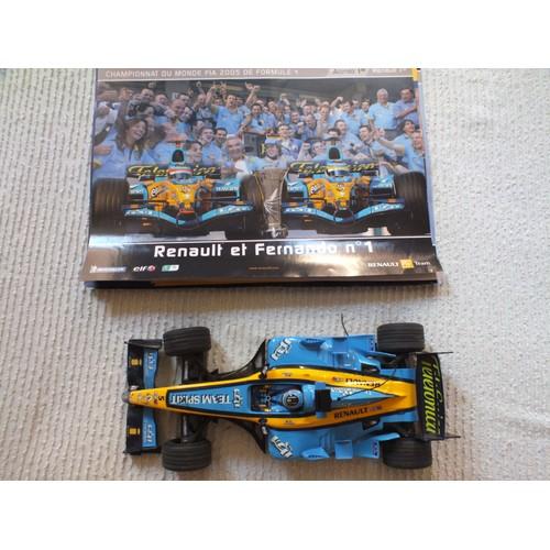 RENAULT F1 RS18 n°55 RADIO COMMANDE  R//C