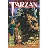 Lot Tarzan ( �ditions Semic ) N� 1 + N� 2 + N� 3 + N� 4