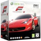 Xbox 360 Slim 250 Go Pack Forza 4 (Noire Mate)