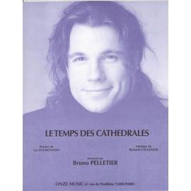Partition : Le temps des cathédrales (Notre Dame de Paris) - Piano, Chant, Ac...