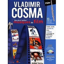 Cosma : Ses Plus Belles Musiques De Film ( + 1 Cd) - Flûte