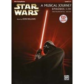 Star Wars A Musical Journey Episodes I-Vi Alto Saxophone + Cd