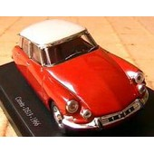 Citroen Ds 19 1966 Universal Hobbies 1/43 Rouge Red Rot Edition Atlas Rot Rosso