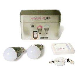 Digital Native Starter Pack De 2 Ampoules Led Wi-Fi