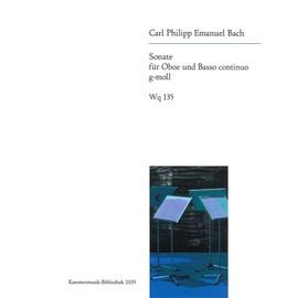 CPE Bach : Sonate en sol mineur Wq 135