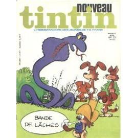 Nouveau Tintin Nouvelle Serie N 55 N� 195