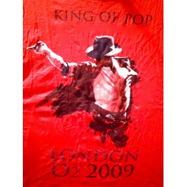 Tee shirt Michael Jackson londres 2009