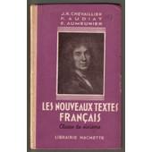 Les Nouveaux Textes Fran�ais Classe De Sixi�me de J.R CHEVAILLIER & P.AUDIAT & E.AUMEUNIER