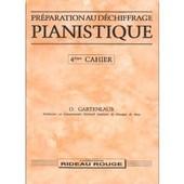 Gartenlaub : Pr�paration Au D�chiffrage Pianistique Vol. 4