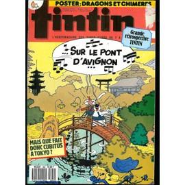 Tintin 43e Annee N� 662 : Mais Que Fait Donc Cubitus A Tokyo?