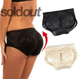 Culotte Galbante Coussinet Push Up Slim Rembourrage Panty Calecon String Shorty Fausses Fesses