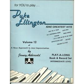 Duke Ellington nine greatest hits volume 12 a new approach to Jazz improvisation