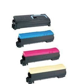 4 Cartouches Toner Xl. Compatible � Kyocera Fs C 5100 Dn, Tk-540xl , Tk540 - (1x Noir, 1x Cyan, 1x Magenta, 1x Jaune)