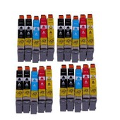20 Cartouches D'encre Compatibles Noir Pour Epson Stylus Sx 218 Sx 515w Sx 510w Sx 115 Sx 200 Sx 400 Sx 105 Sx 415 Sx 215 Sx 205 Sx 410 Sx 600fw Sx 100 Sx 405 Sx 110 S 21 Sx 210 Sx 610fw S 20 Wifi