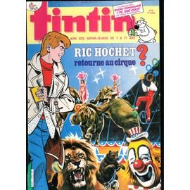 Tintin L'hebdomadaire Des Super Jeunes N� 579 : Tintin