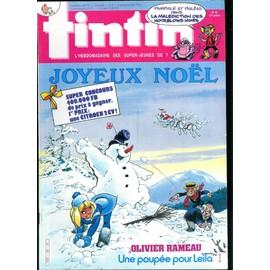 Tintin L'hebdomadaire Des Super Jeunes N� 589 : Tintin