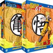 Dragon Ball, Z & Gt - Int�grale Des Films - 2 Coffrets (10 Dvd) de Daisuke Nishio