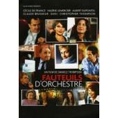 Fauteuil D'orchestre - C�cile De France - Claude Brasseur - Albert Dupontel - Dossier De Presse N� 1