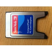 Adaptateur lecteur PCMCIA / COMPACT FLASH