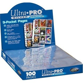 Up Boite 100 Pages 9 Pocket Silver