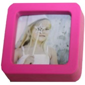 Cadre Photo Magn�tique Color� En Silicone Pratique 4 Couleurs Pierre-Cedric ! Expedition 24/48hrs
