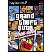 Grand Theft Auto Vice City - Ensemble Complet - Playstation 2 - Fran�ais