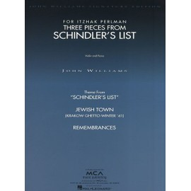 John Williams : Three Pieces From Schindler's List (Violin / Piano)