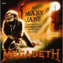 "MEGADETH Drapeau Flag ""Rip Mary Jane"""