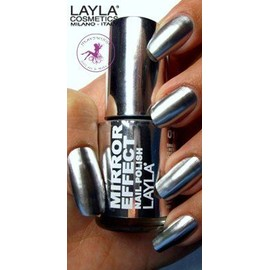 Vernis � Ongles Layla Mirror Effect - N�1 Metal Chrome