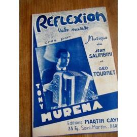 Tony Murena - Réflexion
