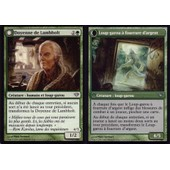 Carte Magic The Gathering Doyenne De Lambholt / Loup - Garou � Fourrure D'argent X4 Obscure Ascension Vf