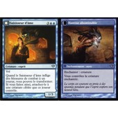 Carte Magic The Gathering Saisisseur D'�me / Hantise Abominable X4 Obscure Ascension Vf