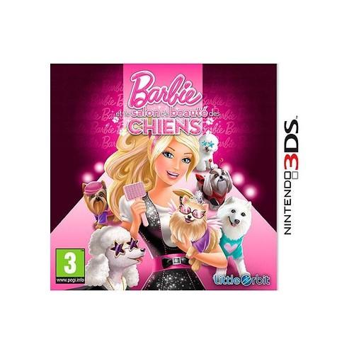 Barbie et le salon de beaut� des chiens 3DS